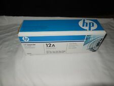 New Sealed Genuine OEM HP Laserjet 12A Black Toner Print Cartridge Q2612A