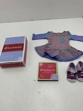 American Girl School Stripes Dress - MyAG - New In Box