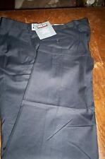 NWT! $98 KIRKLAND WOOL PLEAT FRONT DRESS PANTS - NAVY BLUE - 34X30