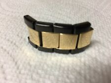 Invicta II Specialty 18mm Gunmetal and Gold Watch Links (4)