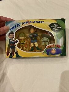 Tree Fu Tom Playset Tom, Swigs and Stink Rare Boxed