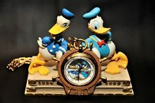 1999-Disney-Store-Donald-Duck-65th-Anniversary-PW-Clock Very Rare #1363 of 1934