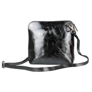Genuine Italian Leather Vera Pelle Mini Cross Body Bag or Shoulder Bag