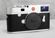 SILVER LEICA M10 MINT IN BOX WITH EXTRAS!
