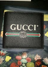 $550 NWT Gucci Black Leather Wallet
