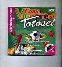 Andrea Matthiae # COME VINCERE AL TOTOSEI # Kyber Edizioni 1999