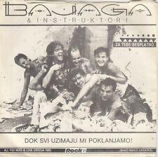 "BAJAGA & INSTRUKTORI ALL YOU NEED IS LOVE THE BEATLES RECORD YUGOSLAVIA 7"" PS"