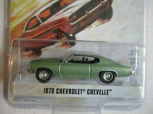 Miniature 1/64 Or 3 Inches Greenlight Chevrolet Chevelle 1970 Dot Limited Zero