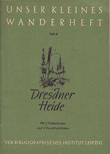 Unser kleines Wanderheft. Heft 9. Dresdner Heide 1953