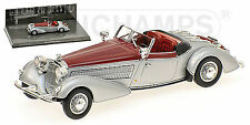 Horch 855 Spezial-Roadster 1938 silber-rot silver-red 1:43 Minichamps