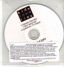 (CQ221) Kids Love Lies, Under The Bed - 2009 DJ CD