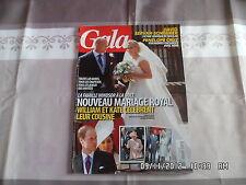 GALA N°947 3 AOUT 2011 MARIAGE ZARA PHILIPS PENELOPE CRUZ     C3