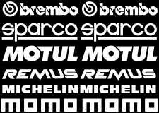 Sticker Autocollant Brembo Sponsor Noir B02