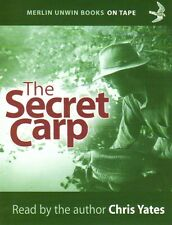 YATES CHRIS COARSE FISHING AUDIO BOOK SECRET CARP audio cassette tapes new