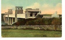 Tubular Bridge-Britannia-Menai Straits-Isle of Anglesey-Wales-Vintage Postcard