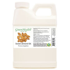 16 fl oz Sweet Almond Carrier Oil (100% Pure & Natural) Plastic Jug