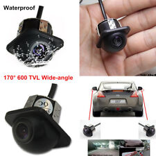 1xCar Rear Side Mirror 170° Wide-angle View CCD Front Backup Parking Hole Camera