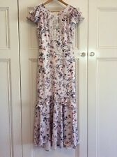 Forever New Size 8 Floral Ruffle Maxi Dress Party Wedding🍃