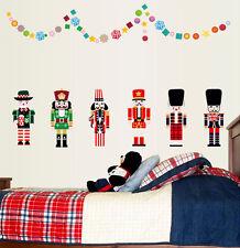 Nutcracker Soldier Wall Sticker Removable Kids Nursery Room Decal Home Decor