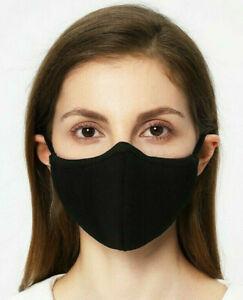 🇫🇷 Masque de Protection Lavable 100% Coton/ Positive Noir Unisex