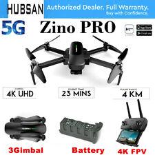 Hubsan Zino PRO RC Drone 5G 4K FPV Quadcopter W GPS 3-Axis Gimbal Camera RTH RTF