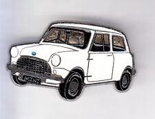 RARE PINS PIN'S .. AUTO CAR MINI COOPER BRITISH LEYLAND BLANCHE WHITE ARGENT ~CQ