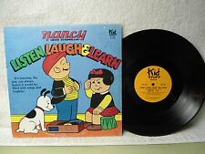 Nancy Sluggo LP Listen Laugh And Learn Clean 1982 Orig! Kids Cartoon Strip