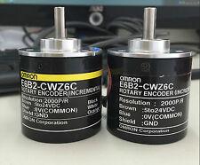 1x OMRON 2000P Incremental Rotary Encoder 2000p/r 5-24vdc E6B2-CWZ6C NPN