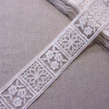 "Embroidery Scalloped Tulle Mesh Net Lace Trim 1.8""(4.5cm) Wide 1Yd"