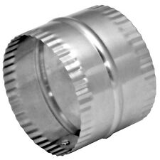"Deflect-o Duct Connector - 4"" Diameter - 3"" Height - Aluminum - Model: DAC4C -"