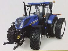 Universal Hobbies New Holland T7.225 Tractor With Dual Wheels Uh4962 1.32 Scale