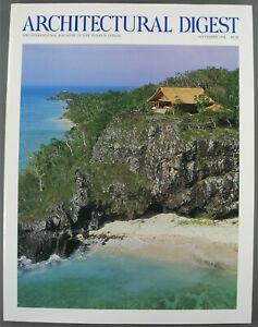 Architectural Digest Magazine September 1994 9/94 Volume 51 No. 9