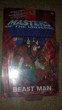 Motu He-Man Masters of the Universe Beast Man Moc 2001 Mattel