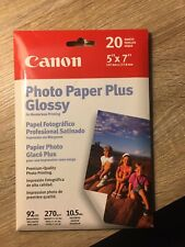 Canon  Borderless Photo Paper (5x7, 20 Sheets)