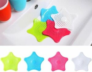 Kitchen Bathroom Sink Shower Hair Catcher Strainer Plug Drain Stopper Filler new