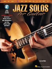 Jazz Solos for Guitar - REH Pro Licks Book with Online Audio NEW 000695447