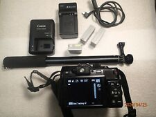 CANON G1X Powershot Digital Camera w/ 4 good batteries, 2 chargers and more