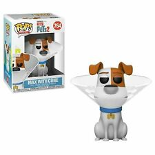 FUNKO POP! MOVIES: SECRET LIFE OF PETS 2  MAX IN CONE #764 FUNKO CLASSIC #37888