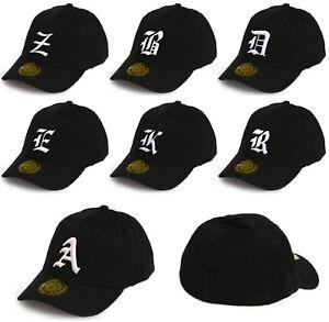 Men Women Casual Baseball Hat Dream Fit Cap Snap Back Gothic 3D Letter LA