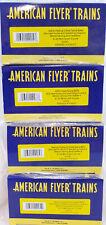 AMERICAN FLYER TANK CARS 191-9281, 9302, 9291, 9271 NEW OB............TK