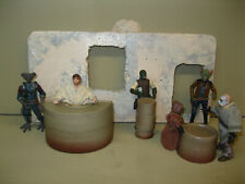 Star Wars Award Winning Custom Cast 3 Part Cantina Bar Set Diorama Free Shipping