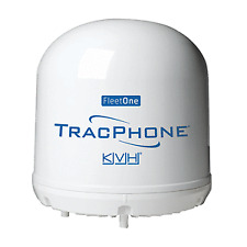KVH 01-0398 Trac Phone Fleet One Compact Dome With 10m Cable