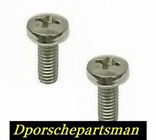 Porsche 911 / 912 / 930 Headlight Rim Screw ( 2 ) NEW #NS