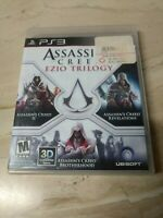 Assassin's Creed Ezio Trilogy PlayStation 3 PS3