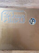 "Deep Purple - 24 Carat Gold 12"" LP, 1975 (Vinyl Sammlung)"