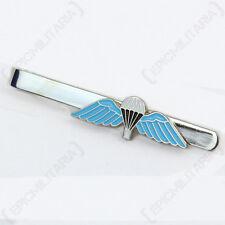 Britannica Paracadute Ali TIE PIN-Blu Colorato Stile Militare Accessorio
