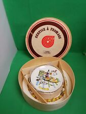 Gien France SERVICE A FROMAGE/fromage 7 PIECES SET
