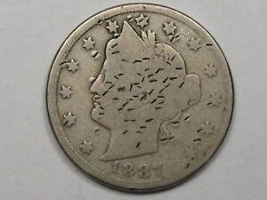 "Better-Date 1887 Liberty ""V"" Nickel.  #10"