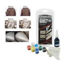 Leather Vinyl Repair Tool Kit Car Interior Seat Restore Tear Scratch Universal