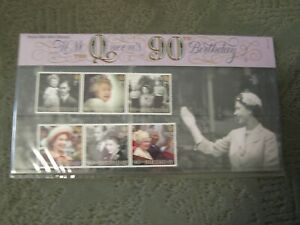 GB 2016 H.M.The Queens 90th Birthday Presentation Pack 525 with M/S